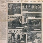 Durban Ramblers Afield Natal Mercury Feb 1937